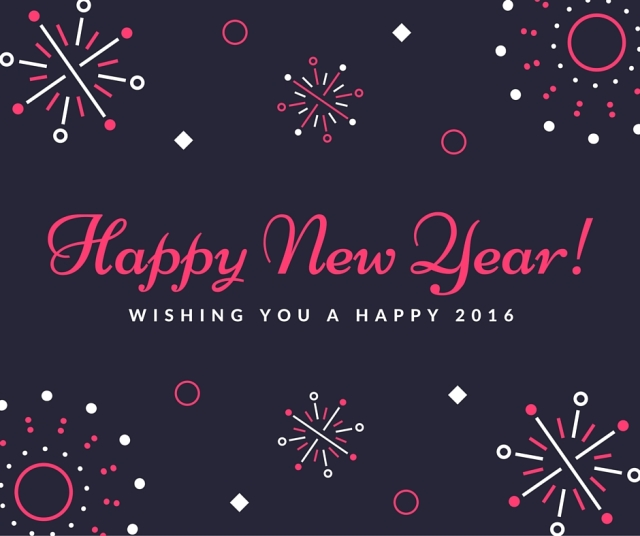 Wishing you a happy 2016